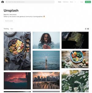 Unsplash Banque d'images gratuite