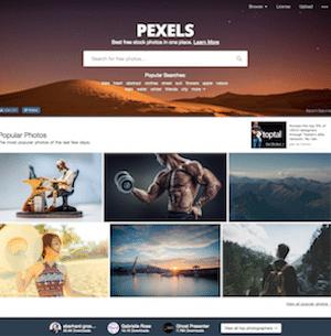 Pexel Banque d'images - Devandclic.com