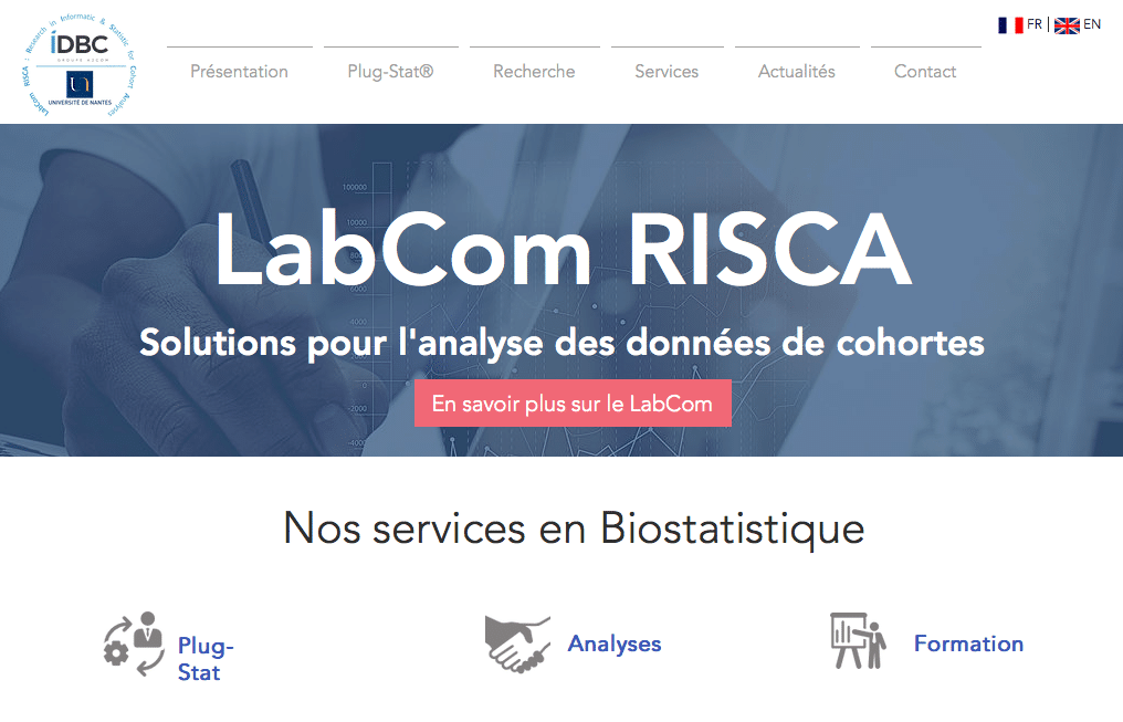 Référencement site web Labcom Risca